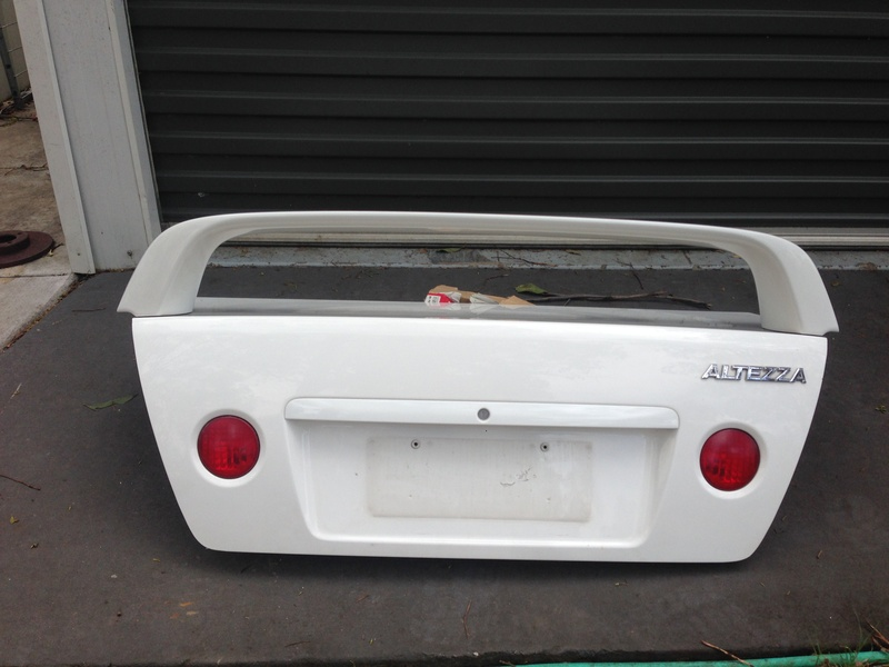 Altezza Boot Lit Assy With Spoiler