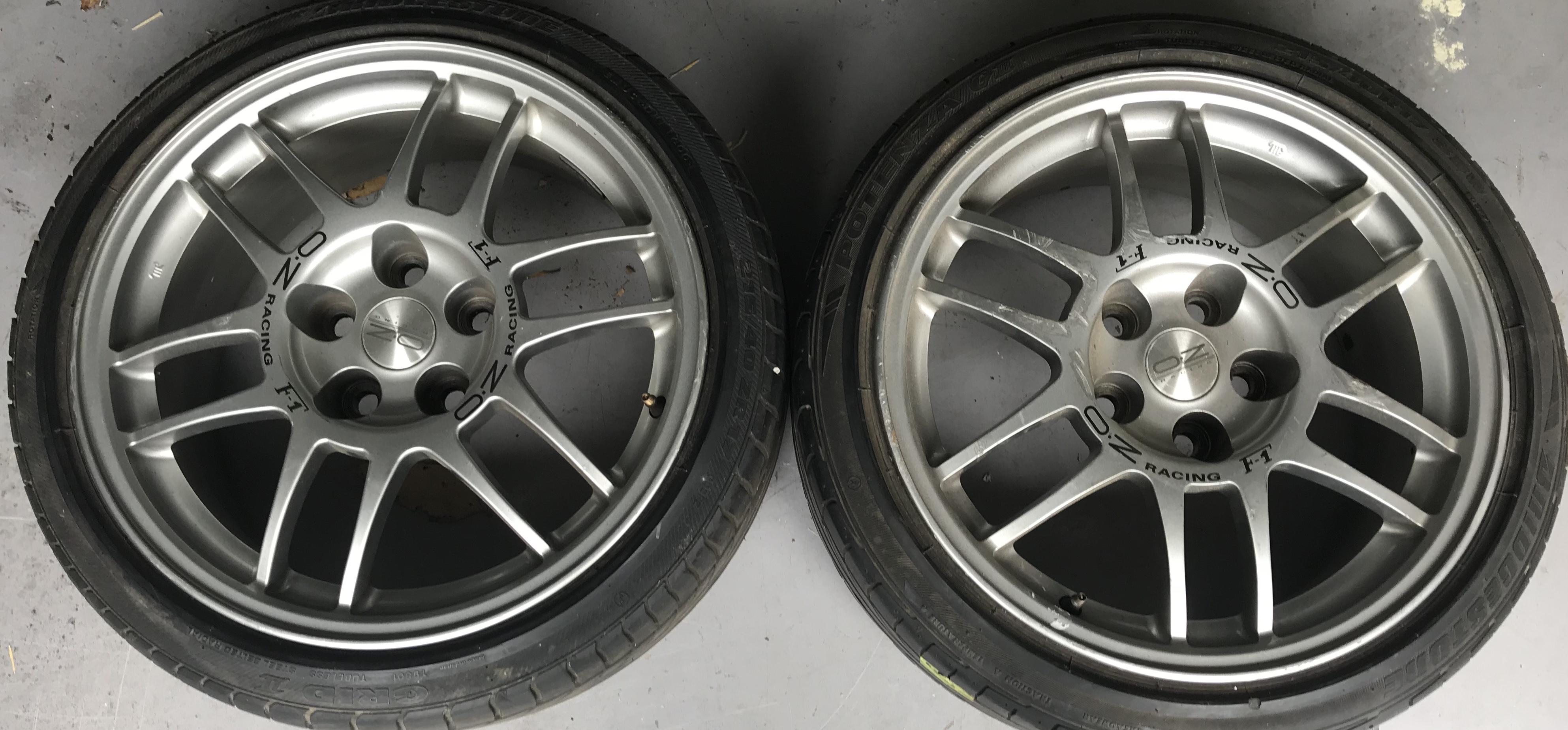 EVO V Enkei Factory wheels