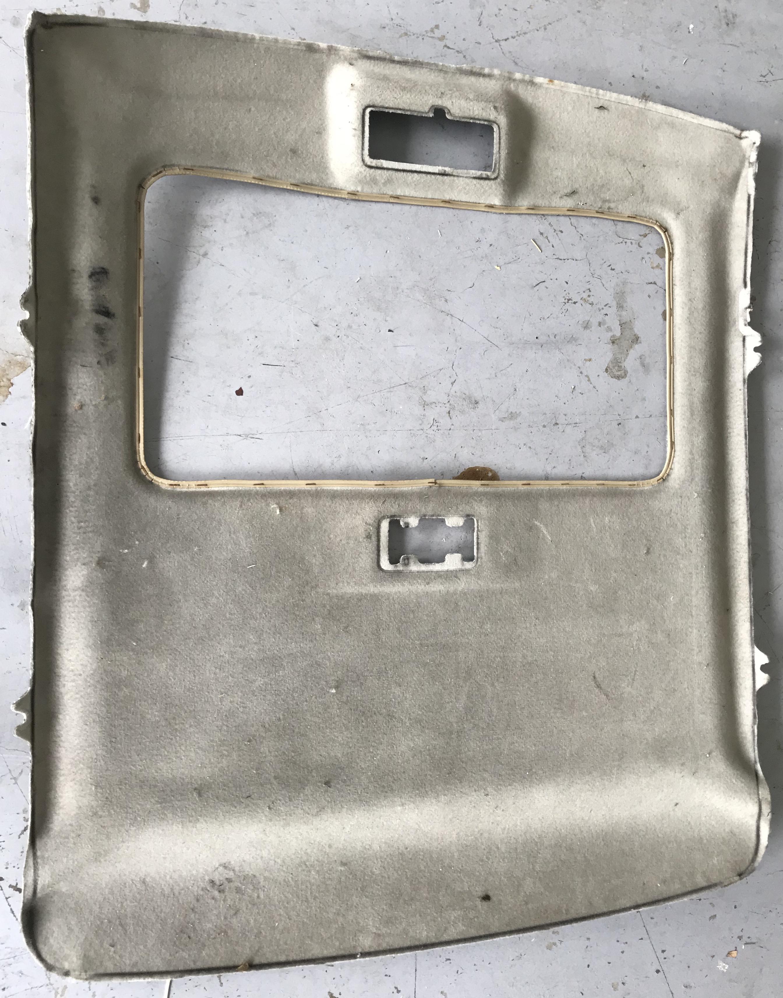 3dr Hatch Sunroof Head Lining