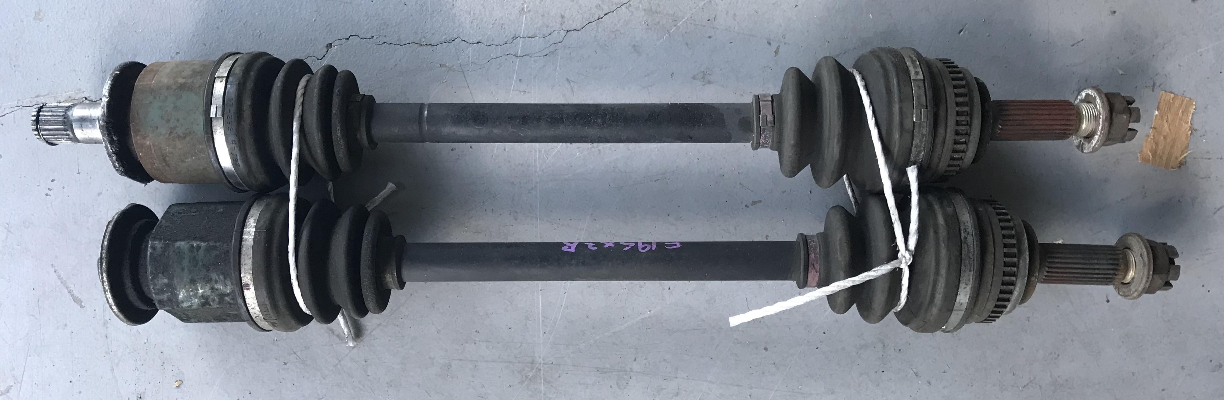 EVO CP9A  V / VI Front Shafts