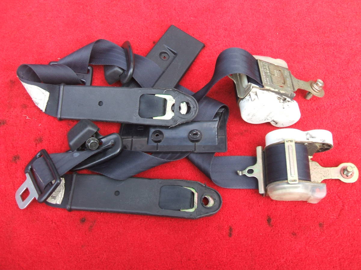 AE86 Front Black Belts