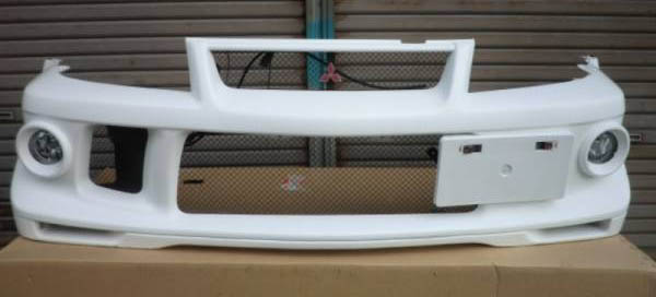 Evo Cp9a Tme 6 5 Front Bumper Assy With Factory Fog Lights