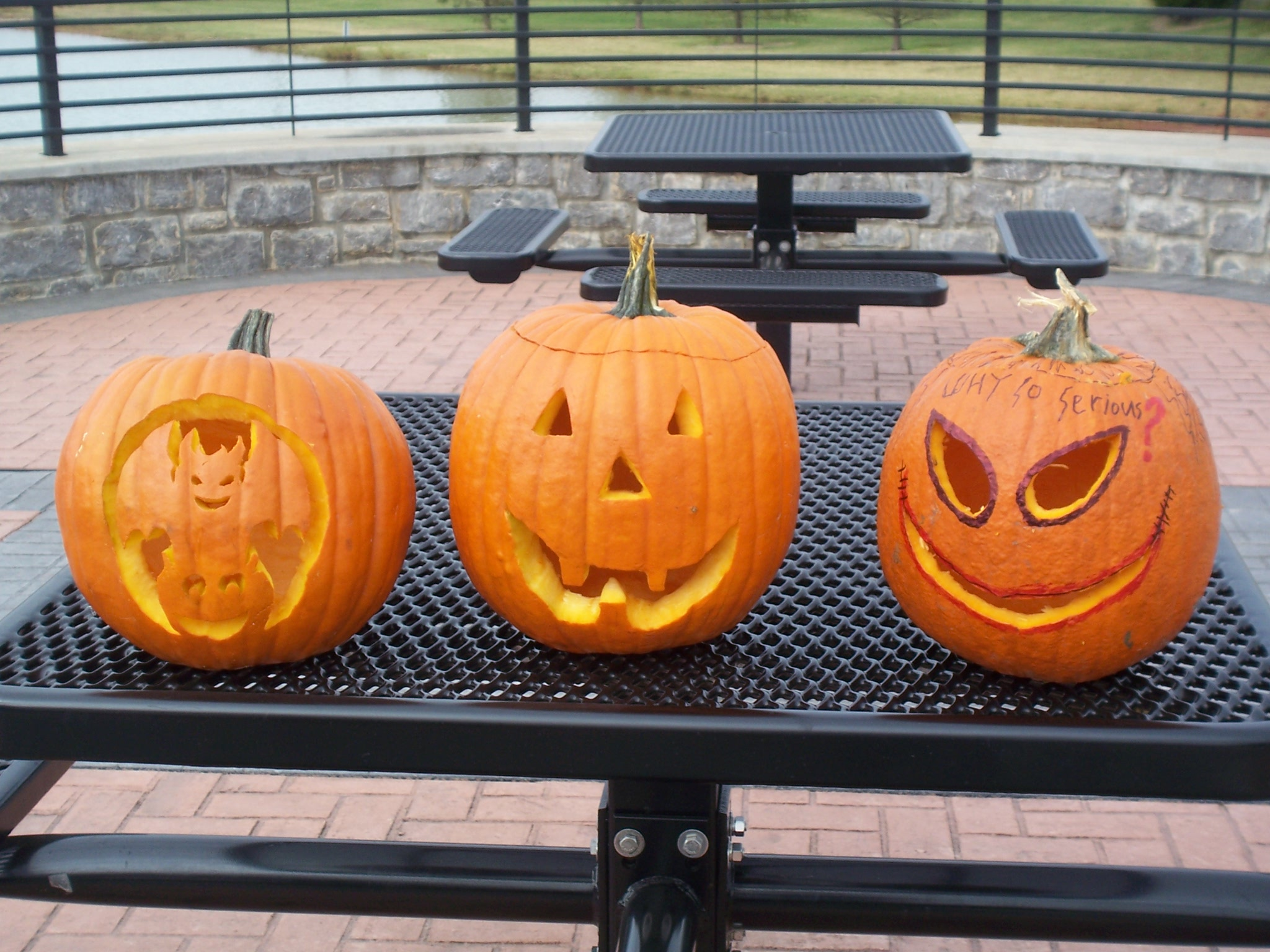 Halloween 2012 Pumpkin Carving contest