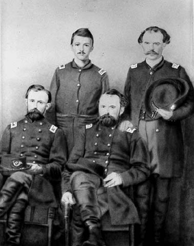 Staff officers of 5th Minnesota Regiment