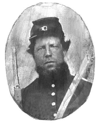 Pvt Daniel Dills, Co. C