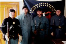 Color Guard, 5th Minnesota Infantry