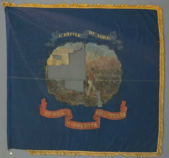 5th Minnesota Orginal Regimental Colors