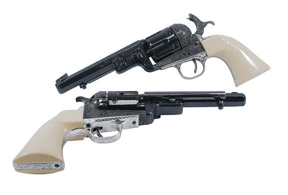 Taylor's & Co 1851 Navy RM Conversion Revolvers