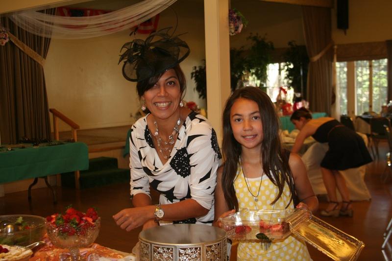 Amira & daughter