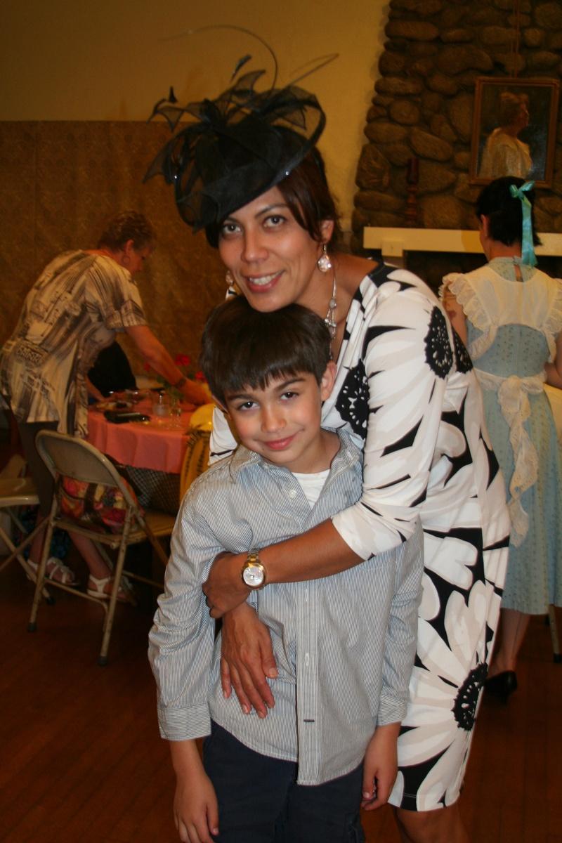 Amira & son