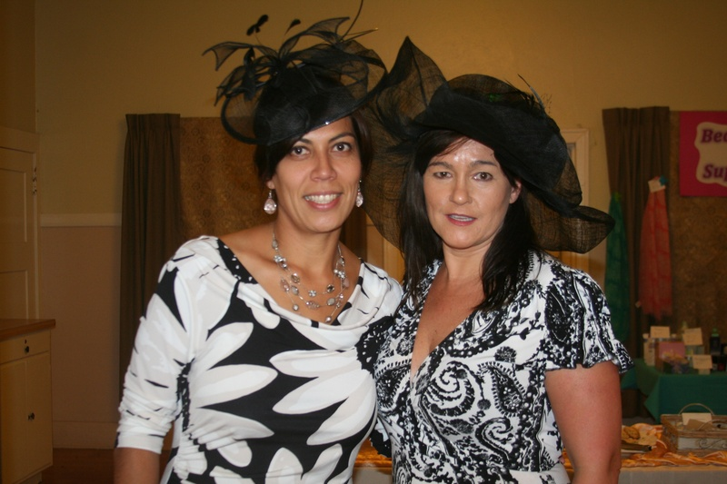 Tea Chairwomen Amira & Kellie