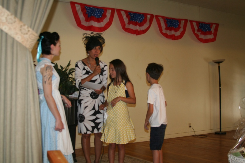 member Bre & member Amira with her kids