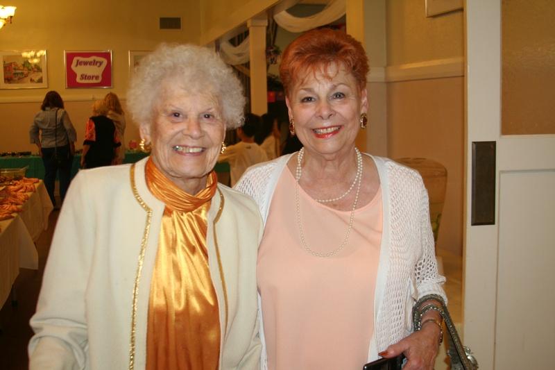 member Gloria & her mom