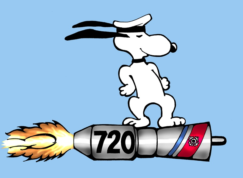Snoopy 720 Break Away Flag Art