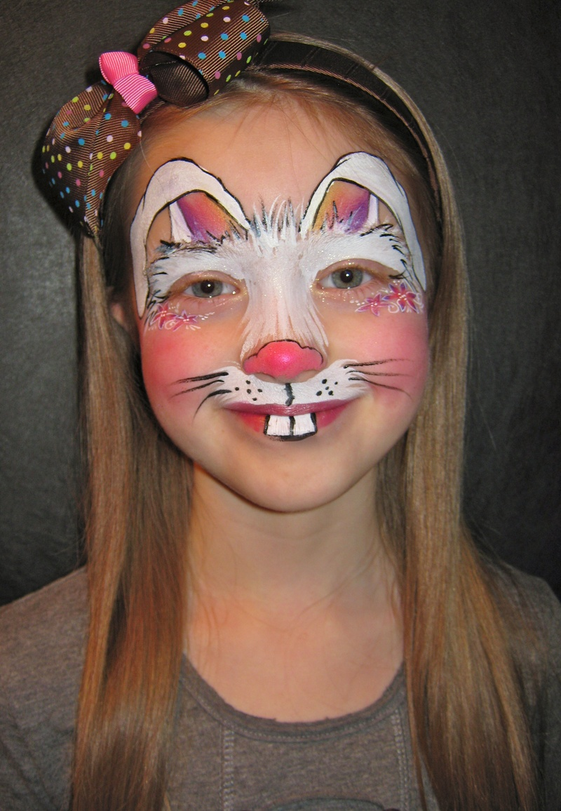 Easter Bunny Face Painting Ideas