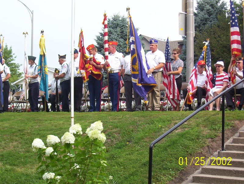 Jaynesville Veterans Memorial 2009
