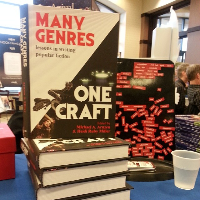 Many Genres One Craft ed. by Heidi Ruby Miller