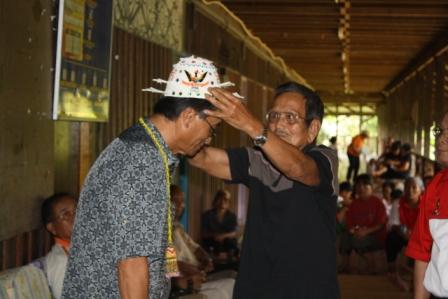 Pengangkatan Ibau Ajan menjadi Wakil Ketua Kampung