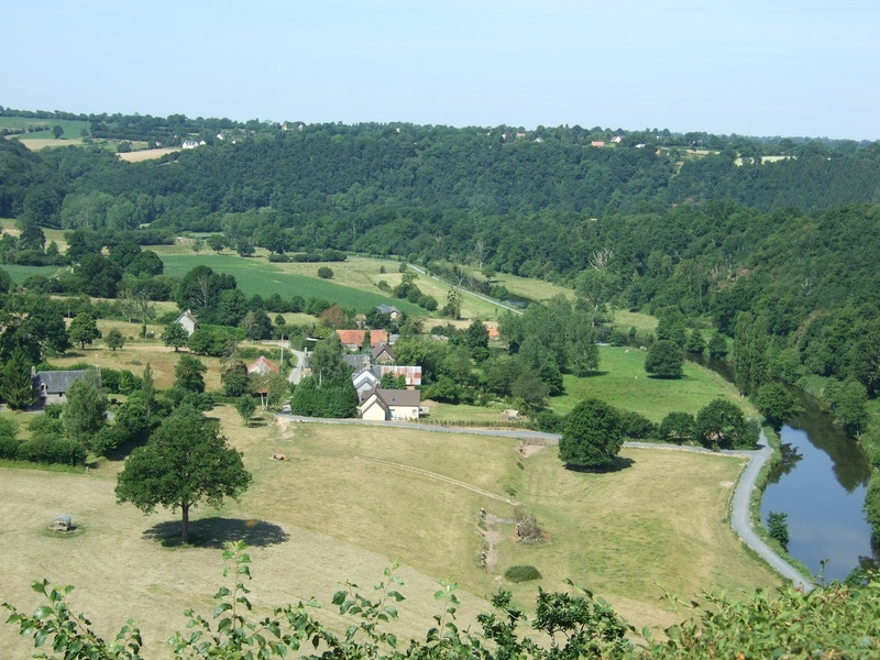 View from Roches de Ham