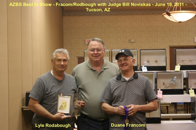 Francom & Rodabough - Best In Show 6-19-2011