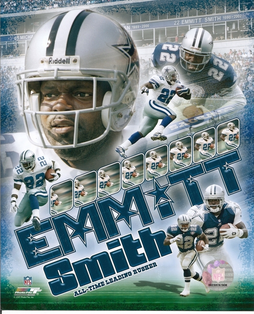 EmmittSmith col 2 lg Photo | All Time Leading Rusher | Emmitt Smith