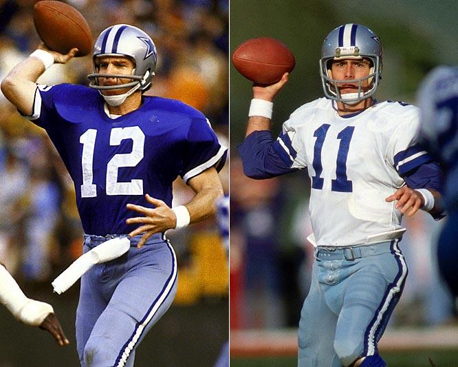 9f0088ff732 Dallas Cowboys   Photo: Roger Staubach and Danny White