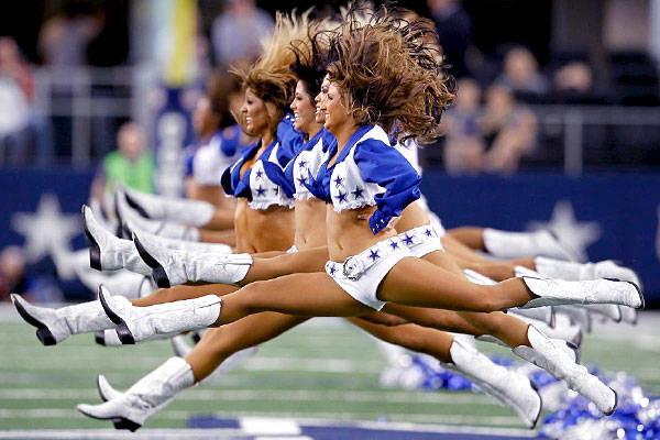 Humpday Dallas Cowboy Cheerleader Edition Nsfw