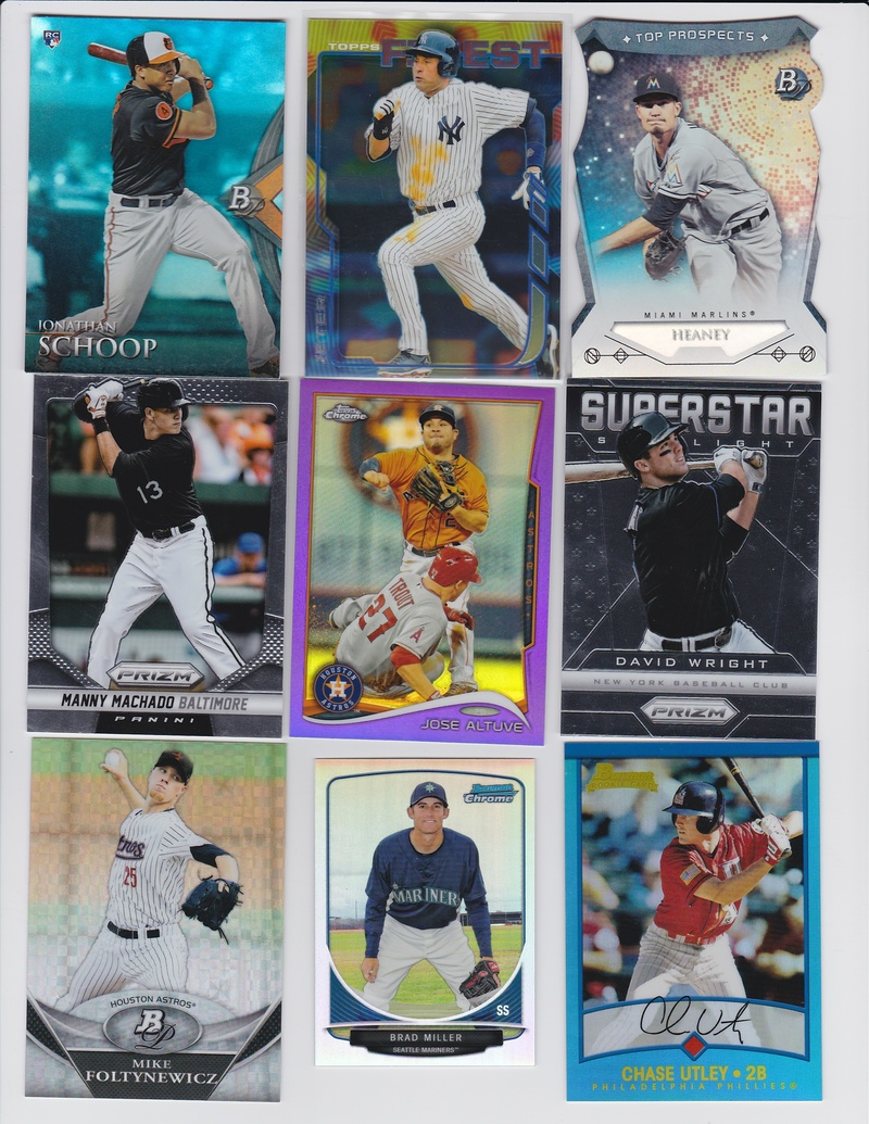 6365e28e352 2014 Finest Derek Jeter-Yankees 702. 2014 Bowman Platinum Top Prospects Die  Cut Andrew Heaney-Marlins Angels 703. 2014 Panini Prizm Manny Machado- Orioles