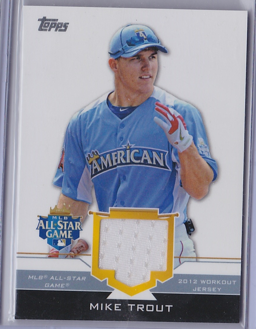 new arrivals f1290 46fc6 WTB: Mike Trout 2012 Topps Update All-Star relic - Blowout ...