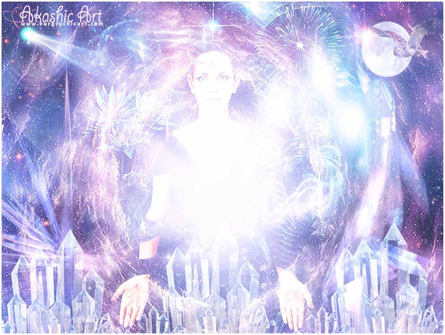 Lemurian Crystal Priestess