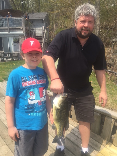 Jack's First Big Bass
