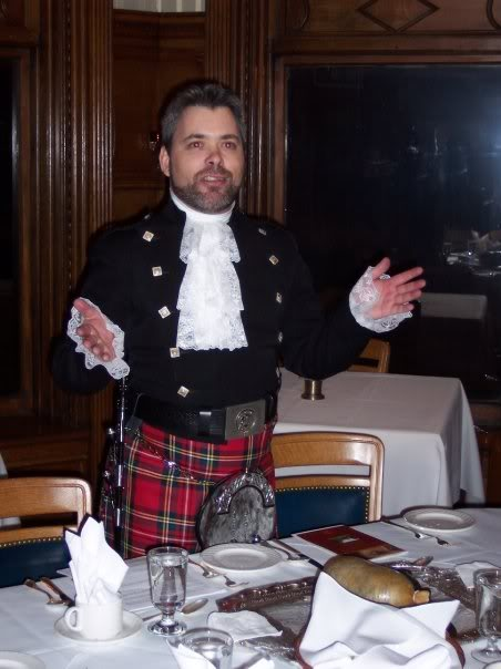 The Address to the Haggis
