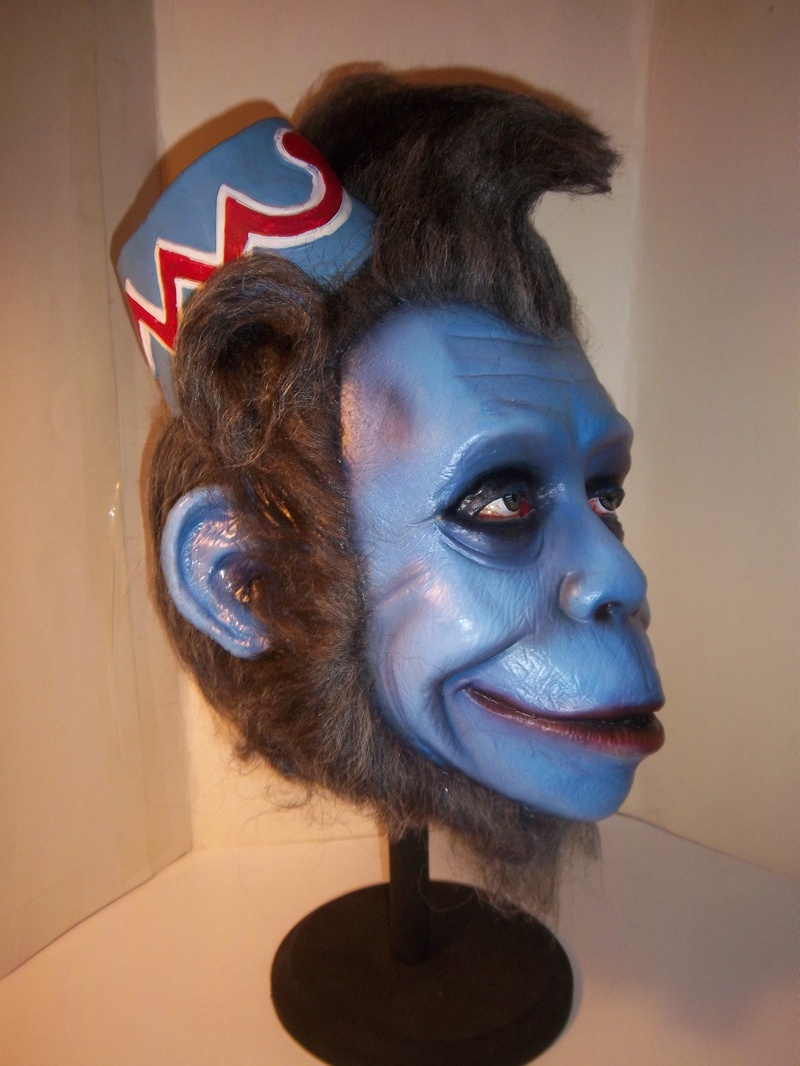 the winged monkey make-over by the talented Tony Pitocco.
