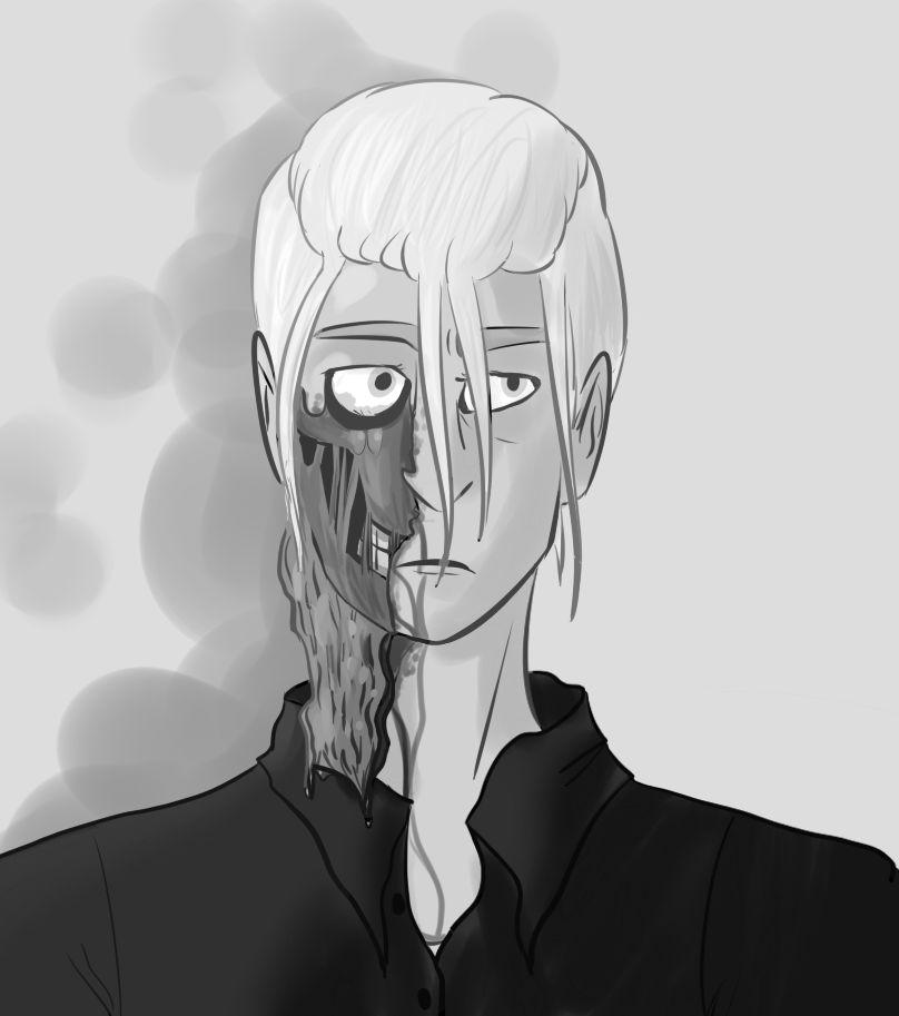 Goretober 13 - Decay/Visible Bones