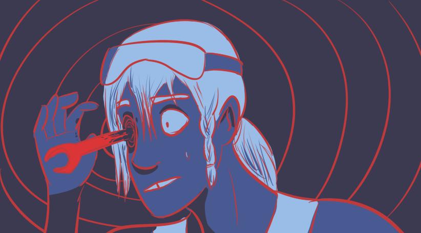 Goretober day 2 - eye trauma