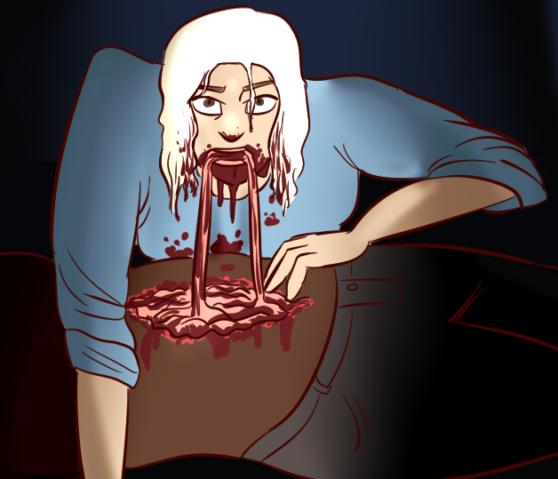 Goretober day 6 - Cannibalism