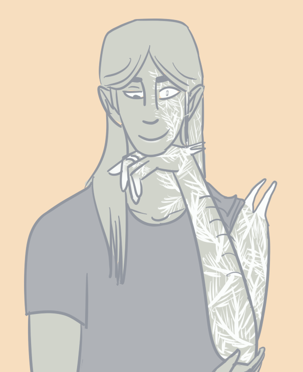 *puts a sign on him that says 'i murdered my twin sister for power and i dont feel bad about it'* (palette request)