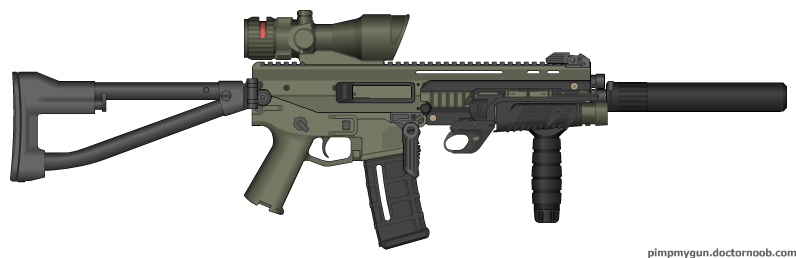 bushmaster acr enhanced. Bushmaster ACR CQB variant