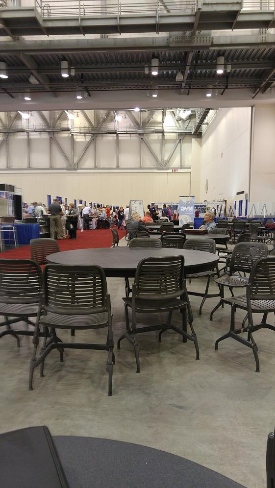 The Sales Floor, taken from the concession area