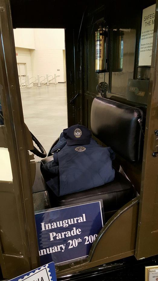 Mail Truck interior