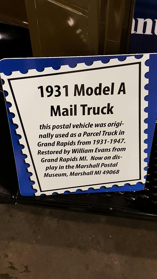 Mail Truck Info