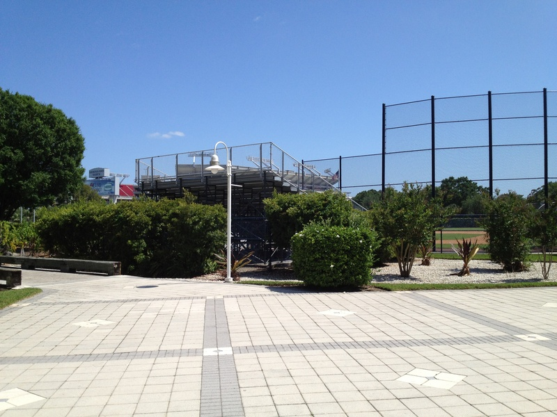Outside Stadium