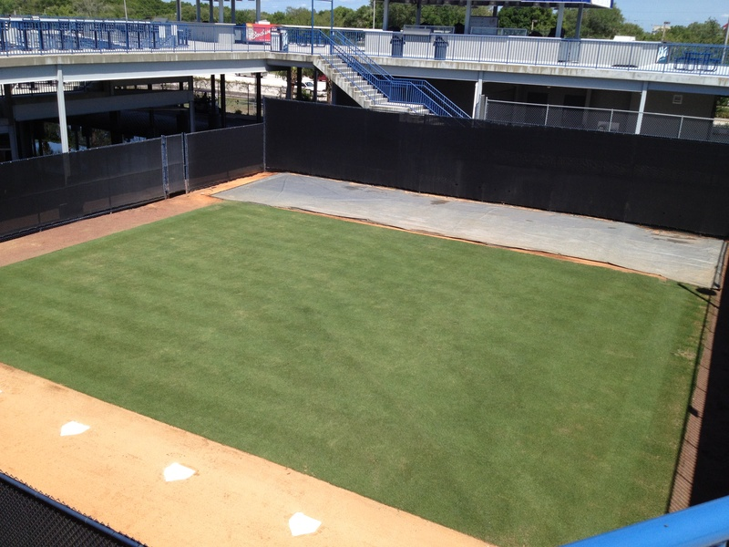 Bullpen from Bridge Walkway