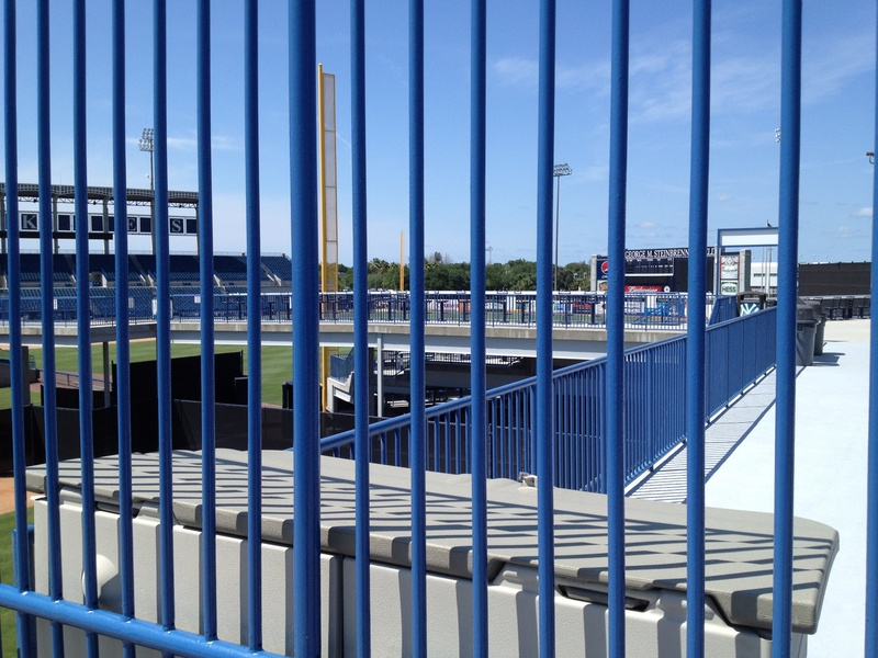 RF Patio View into Stadium
