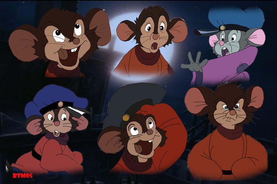 Many faces of Fievel