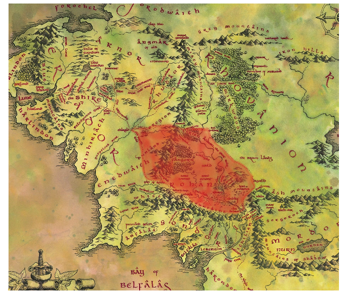 Tolkiens middle earth map for h3 testers wanted page 3 the image gumiabroncs Gallery