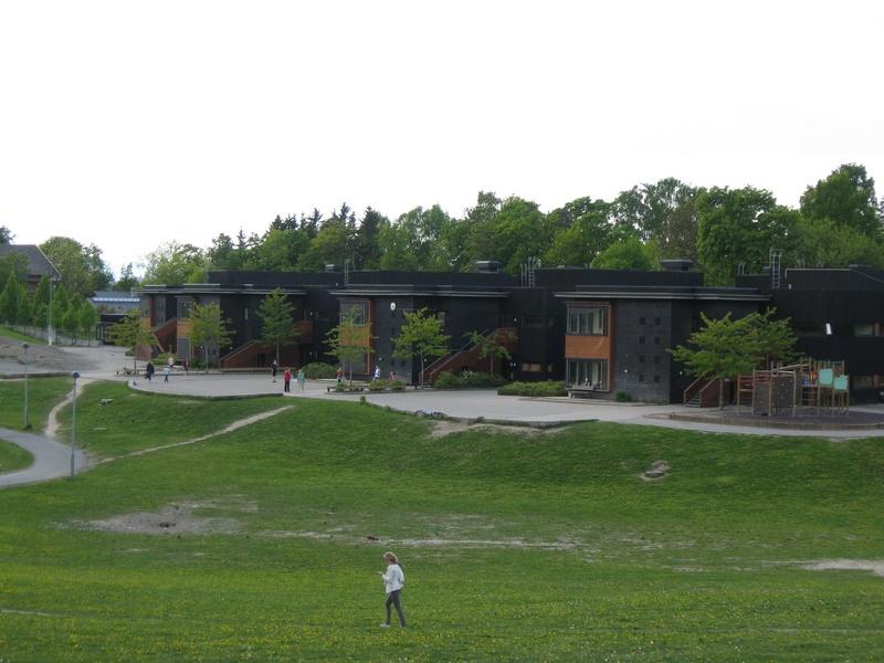 Her spiller vi hver onsdag: Skøyen Skole, Monolitveien 6, Oslo, 0375, Norway