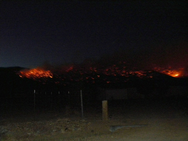 May 2012 TRE fire in Nevada