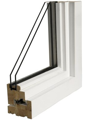 Install double-pane windows.