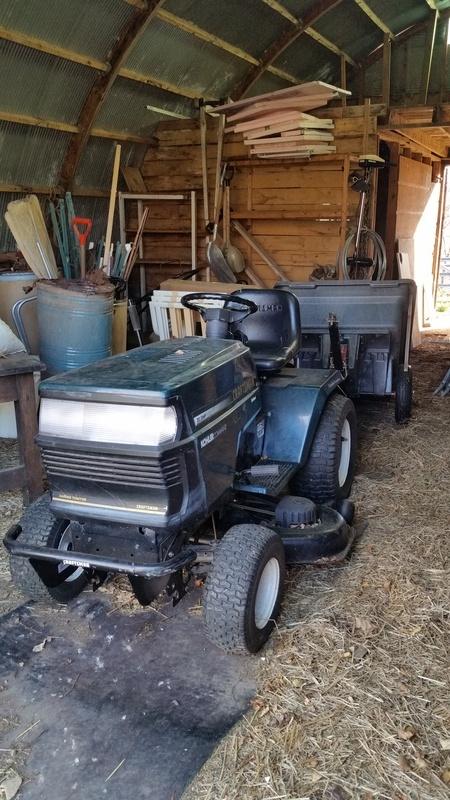 Craftsman Garden Tractor w/ Trailer